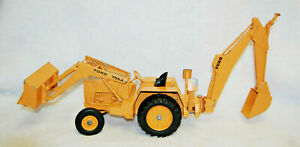 Ertl Diecast Ford 755A Backhoe Front Loader Tractor 1:12 Diecast Toy Vtg  M4836