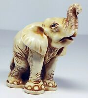 VTG Harmony Kingdom Solid Figurine Francis Elephant Africa - TJNEL SGN 2x MIB