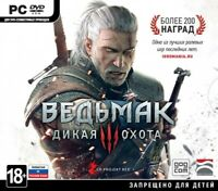 The Witcher 3 III Wild Hunt PC Russian Edition Brand NEW Sealed
