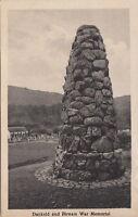 DUNKELD AND BIRNHAM ( Scotland) : War Memorial