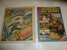 2000 AD Comic - PROG No 315 - Date 07/05/1983 - Inc FREE SPOTLIGHT ON SPORT Mag