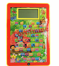 Toy inglese Tablet Computer Machine Learning regalo per i capretti 3 +