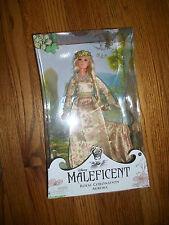 Disney Maleficent REAL Coronation COLECCIONISTAS Muñeca Aurora Bella Durmiente