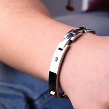 Titanium Power Healing Crystal Magnetic Bracelet Wristband Balance Energy Body