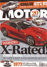 Motor Jul 10 HSV Clubssport Ferrari 599 922 Turbo Maserati Gran Turismo Peugeot
