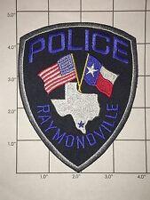 Raymondville Police Dept Shoulder Patch - Texas
