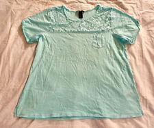 H&M Damenblusen, - tops & -shirts mit Rundhals-Ausschnitt für L