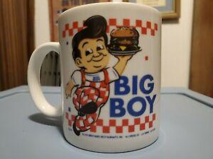 Vintage ELIAS Brothers BIG BOY Restaurants Ceramic Coffee Cup Mug 1991