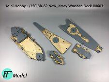Mini Hobby 1/350 BB-62 New Jersey Wooden Deck 80603