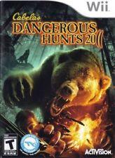 Cabela's Dangerous Hunts 2011 Special Edition (Nintendo Wii, 2010) LN FAST SHIP