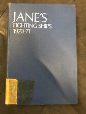 Jane's Fighting ships 1970-1971 By Raymond V. B. Blackman