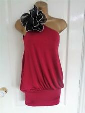 35eb96f889d98d One Shoulder Red Body Tops   Shirts for Women for sale