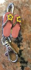 1990's Alexx Flower Sandals Keychain