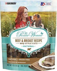 Purina The Pioneer Woman Beef & Brisket Recipe BBQ-Style Cuts Dog Treats 5 oz