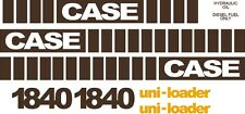 Case 1840 replacement decals sticker / Decal kit MID