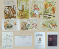 Beatrix Potter Peter Rabbit Postcards 10 Designs Or Set Of 10 Brand New 1pc only