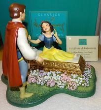 WDCC Snow White & Prince Love Kiss Anew 1998 USA Disney Convention Ltd Ed 1650