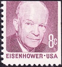 Eisenhower 8 Cent Stamp In Us Errors Freaks Oddities For
