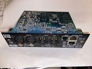 CROWN IQ PIP-USP2 PIP2 IQ2 DSP AMPLIFIER MODULES