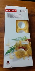 New Tescoma round ravioli mould cooking kitchen recipes party dining gadget