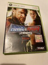 🤩 jeu microsoft xbox 360 pal fr complet smackdown vs raw 2009 ft ecw combat
