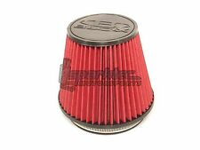 """BLOX Racing 6"""" Round Tapered Universal Dry Air Intake Cone Filter Car/Truck/SUV"""