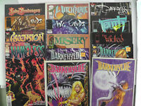 IMAGE Comic Lot of 14 DarkChylde Wicked Misery War Lands Tenth Lady Pendragon ~9