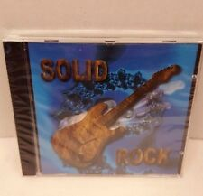 Solid Rock CD Mixed Artists 16 Tracks FogHat, Triumph, The Kings,War and more