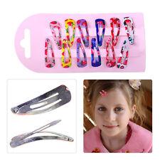 60pcs BB Snap Hair Clip Hairpin Barrette Headwear Baby Kids Girl Children