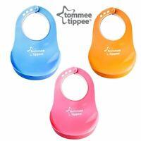 Baby Feeding Bib Comfi Neck Catch All Bibs Plastic Tommee Tippee - 10% OFF!