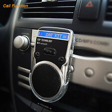 Bluetooth Car Kit Solar Powered Handsfree Speakerphone Speaker for Cell Phone