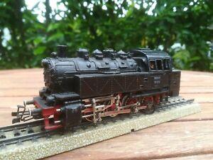 Märklin HO 3031 Tenderlok BR 81 004 Dampflok Tenderlokomotive mit TELEX-KUPPLUNG