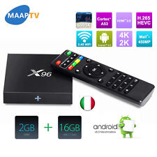 X96 Android 6.0 Amlogic S905X Smart TV Box 2G 16G KODI 16.1 WIFI 4K H.265 IPTV