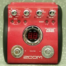 ZOOM B2 Bass Guitar Multi effects pedal (002347)
