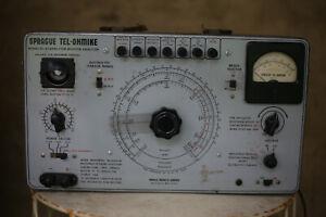 Sprague Tel-Ohmike TO-4 capacitor analyzer