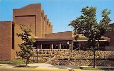 La Crosse University of Wisconsin~Fine Arts Bldg~Stone Walls, Terrace Steps 1965