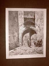Esposizione d'arte di Brera del 1876 Mandato di cattura in Oriente Quadro Pasini