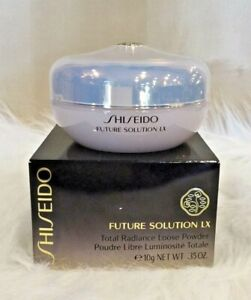 SHISEIDO FUTURE SOLUTION LX TOTAL RADIANCE LOOSE POWDER NEW SEALED IN BOX