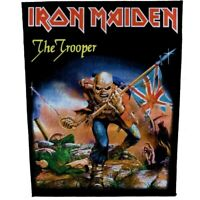 Iron Maiden Trooper Jacket Back Patch Official Backpatch Heavy Metal Merch New