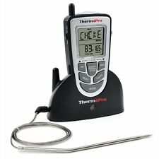 ThermoPro Wireless Cooking Meat Thermometer BBQ Grill Smoker Oven Thermometer