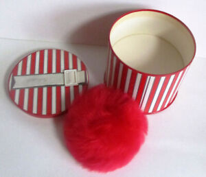 Vintage Revlon Intimate 6 oz. Red Powder Puff Bath Body Powder SEALED