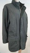 Brooks Brothers Menswear verde con cuello con capucha de invierno abrigo Sz oculto: M