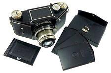 Rare 1935 Ihagee Exakta VP C with equipment # 479055 and Zeiss Tessar 3.5/7.5cm