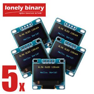 "OLED Display 0.96"" 128x64 I2C SSD1306 Arduino Uno Mega 2560 Respberry PI ESP32"