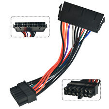 24 Pin to 14 Pin PSU Main Power Supply ATX Adapter Cable for Lenovo IBM Connect
