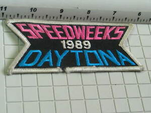 Daytona Speedweeks 1989 Racing Patch (#2190)(**)