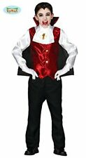 Children's Halloween Dracula Fancy Dress Costume.