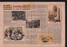 Voiture Hotchkiss Grégoire Renault Type A/La Genête Bourgogne 1949 ILLUSTRATION