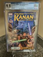 Kanan the Last Padawan #1 CGC 9.8 Star Wars Marvel 2015 1st SABINE WREN Rebels