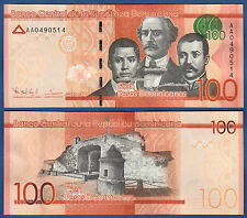 República dominicana en/Kildare Rep. 100 pesos dominicanos 2014 UNC p. New